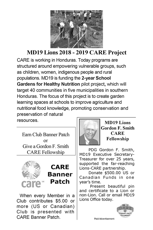 Care Project ad
