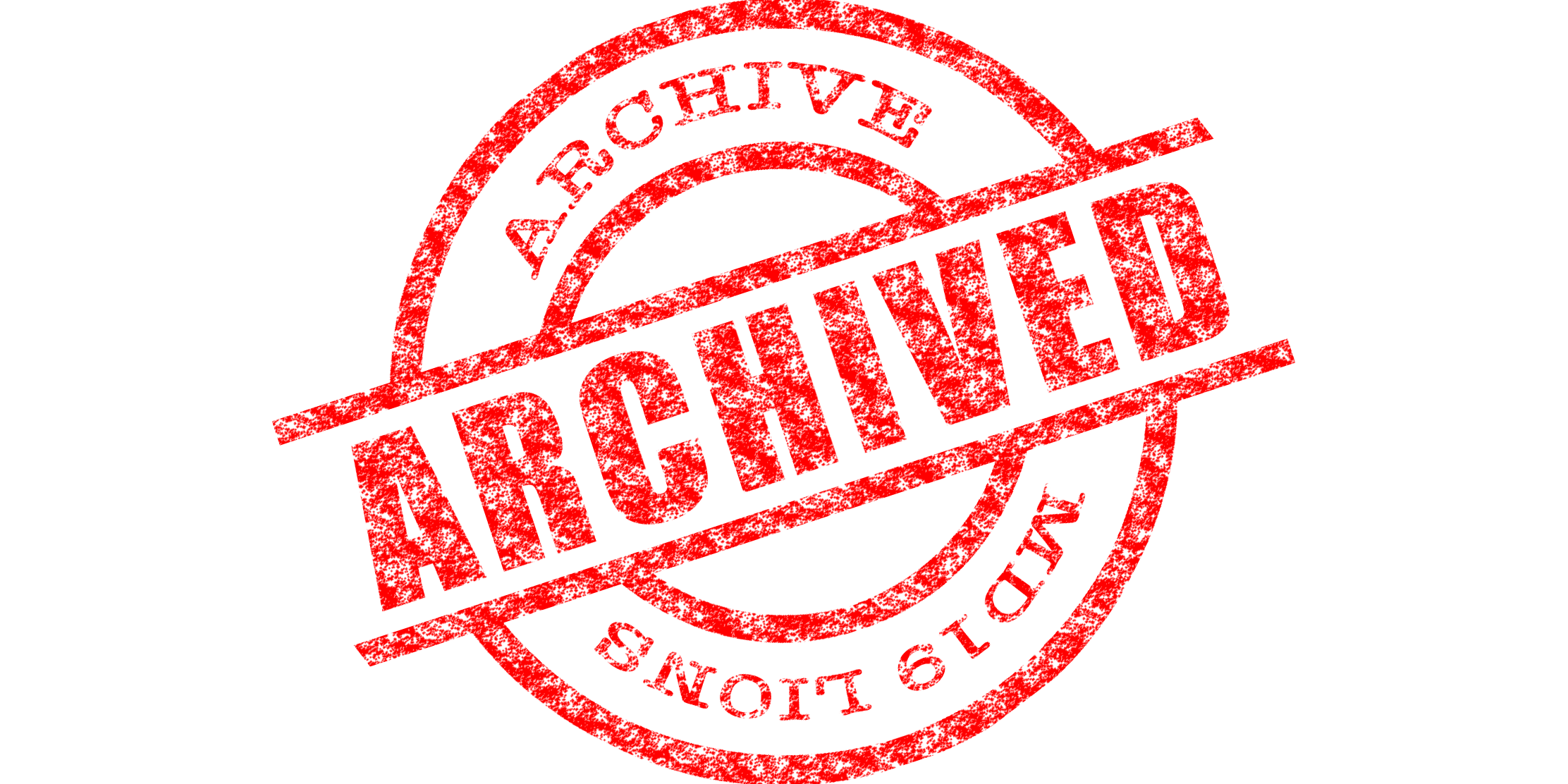 Archive Stamp